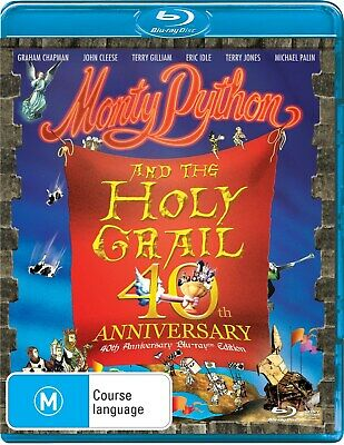 Monty Python and the Holy Grail Blu-ray Region B NEW