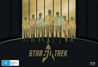 Star Trek 50th Anniversary Collection Blu-ray Region B NEW