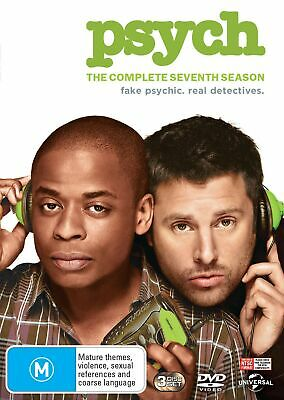 Psych The Complete Seventh Season 7 DVD Region 4 NEW