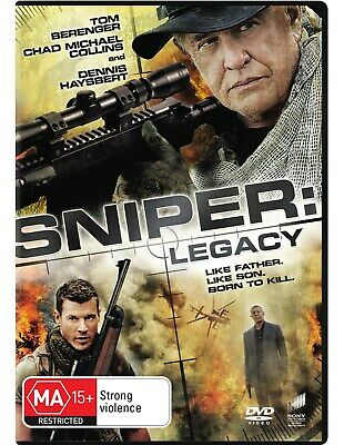 Sniper Legacy DVD Region 4 NEW
