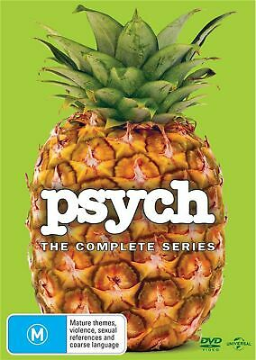 Psych The Complete Series DVD Region 4 NEW