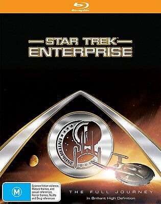 Star Trek Enterprise The Complete Collection Blu-ray Region B NEW