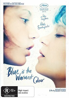 Blue Is the Warmest Colour DVD Region 4 NEW