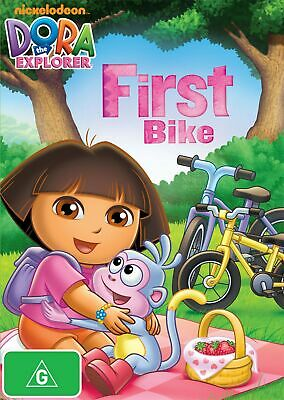 Dora the Explorer Doras First Bike DVD Region 4 NEW