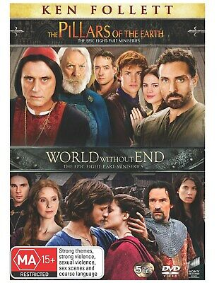 The Pillars of the Earth / World Without End DVD Region 4 NEW