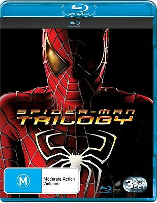 Spider Man Trilogy Blu-ray Region B NEW