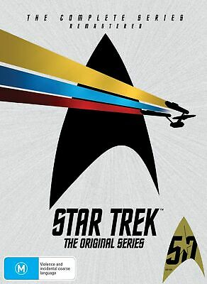 Star Trek the Original Series Complete DVD Region 4 NEW