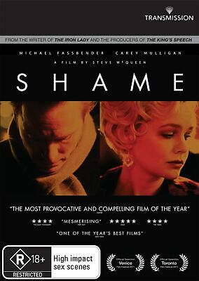 Shame DVD Region 4 NEW