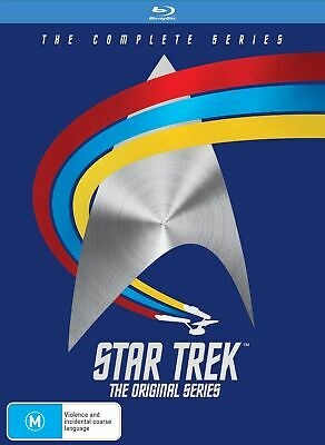 Star Trek the Original Series Complete Blu-ray Region B NEW