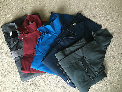 Set Of 5 Very Good Condition Ex-Rental Overalls-Boiler Suits(Please Select Size)
