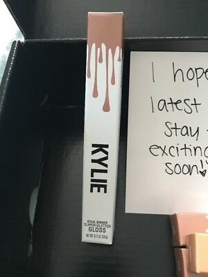 "New & Sealed 100% Authentic Kylie Jenner Kardashian super glitter gloss ""Glitz"""