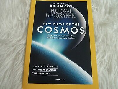 National geographic magazine new march 2018 new views of the cosmos