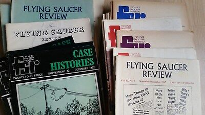 Flying saucer review magazine 52 issues (1961-84)