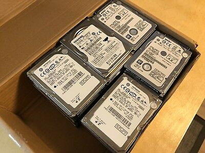 Lot of 27 Mixed brand Laptop 2.5 Sata Hard Drive 320GB Fully working conditions