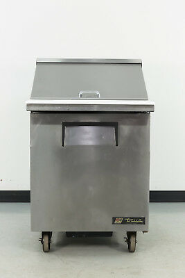 "Used True TSSU-27-12M-C 27"" 1 Door Sandwich Prep Table"