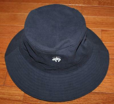 be695cd859d NEW Mens Brooks Brothers Navy Blue Bucket Hat Embroidered Golden Fleece  Logo  C1