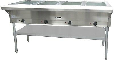 """Commercial Kitchen 4 Well Electric Hot Food Steam Table 64"""""""