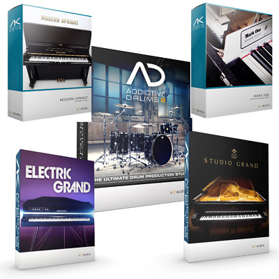 XLN ADDICTIVE DRUMS 2 & 4 x XLN Addictive Keys Bundle! REDUCED PRICE! ez  drummer