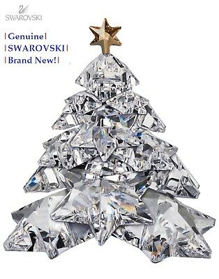 Swarovski Christmas Tree Shining Star Color Crystal Figurine 1139998 New in Box!