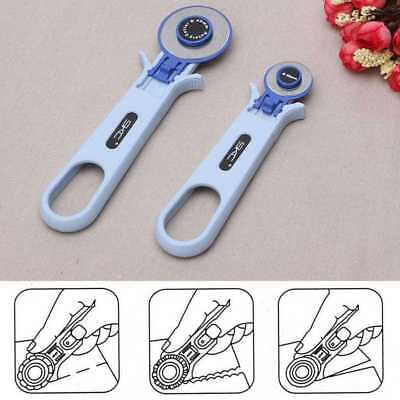 28mm 45mm Rotary Cutter Quilters Sewing Quilting Fabric Craft Tool Mode#