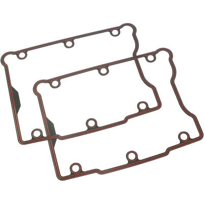 Genuine James Gasket Rocker Box Cover Gaskets Pair Harley Twin Cam