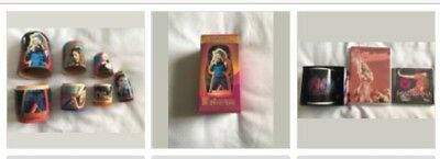 Madonna - Official Icon Fanclub Nesting Doll Set Limited Edition & Extras