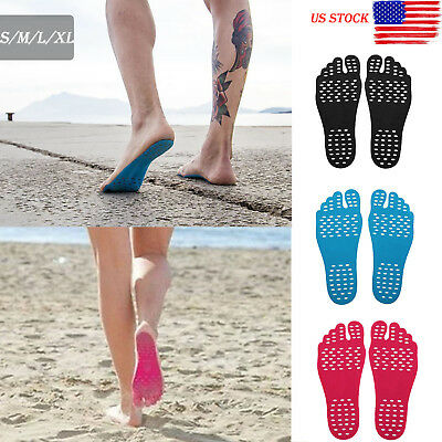 Flexible Nake-fit Adhesive Foot Pads Feet Sticker Stick On Soles Feet Protection