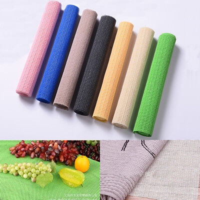 1.5m Roll PVC Non Anti Slip Mat Spill Matting Tool Box Carpet Kitchen Bathroom