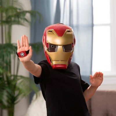 Marvel Avengers: Infinity War Hero Vision Iron Man Augmented Reality mask experi