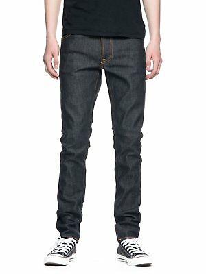 Nudie Vaqueros - Lean Dean - Dry Profundo Layers - Made In Italy