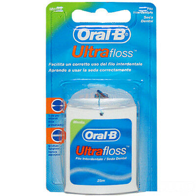 Oral B filo interdentale Ultrafloss menta 25m