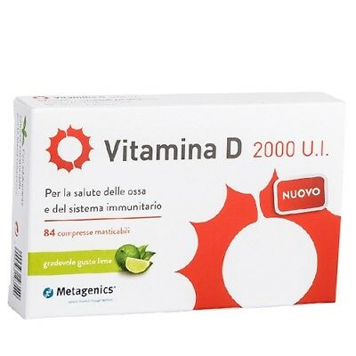 Metagenics Vitamina D 2000 U.I. 84cpr lime