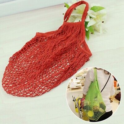 Net Shopping Bag Reusable Tote Timeproof Shoppers Eco-friendly Groceries Bag 1PC