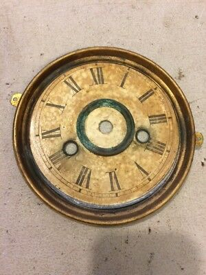 Ingraham  Parlor Clock Dial From 30 Hour Movement