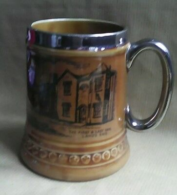 Lord Nelson pottery beer tankard of First and Last Inn, Lands End