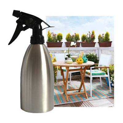 Home Oil Sprayer Oiler Pot BBQ Cooking Stainless Steel Olive Pump Spray Bottle