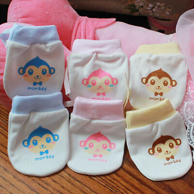 Cotton Gloves Printed Gloves Mittens Accessories Protect Face Anti-grasping