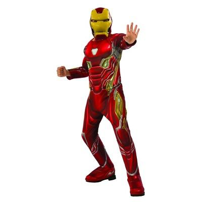 Avengers Infinity War Deluxe Iron Man Child Costume, 641056, Rubies