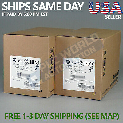 2018 *new Factory Sealed* Allen Bradley 22A-V4P5N104 /a Ac Drive Latest Mfg Date