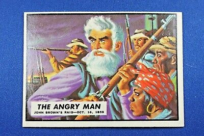 "1962 Topps Civil War News - #1 ""The Angry Man"" - Ex-ExMt Condition"