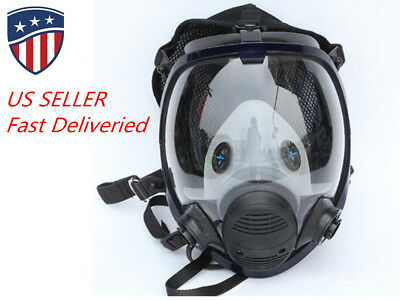 Full Facepiece Respirator face mask Reusable Sanding Chemical Splash for 6800
