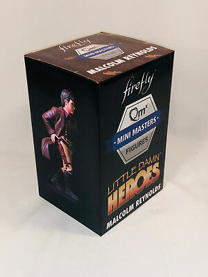QMx Little Damn Heroes Mini Master MAL REYNOLDS Firefly Loot Cargo Crate EXCLUS