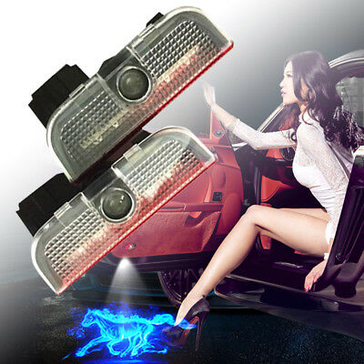 for Volkswagen VW Shadow Light Welcome Light Courtesy Light Step Auto Logo