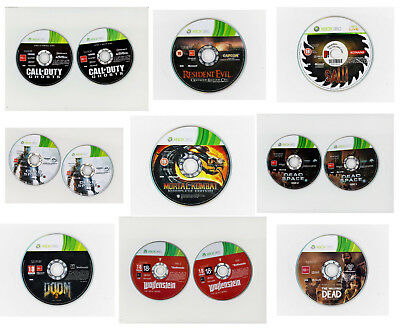 Microsoft XBox 360 Games - Disc Only  - Free Shipping