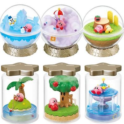 Nintendo Kirby Super Star Figure Terrarium Collection Complete 6-set japan
