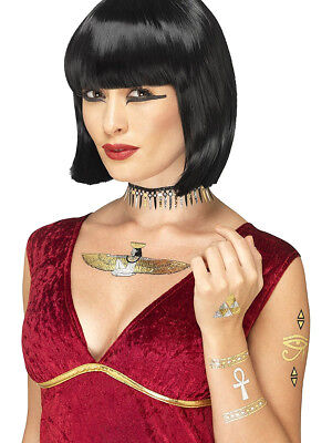 Egyptian God Ancient Egypt Transfer Temporary Tattoos Costume Accessory
