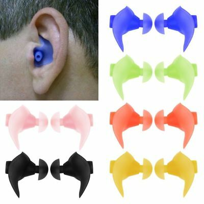 Silicone Anti Noise Foam Ear Plugs For Swim Sleep Work Box Reusable Comfy Us