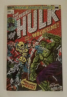 Hunt For Wolverine 1 Shattered Variant NM Incredible Hulk 181