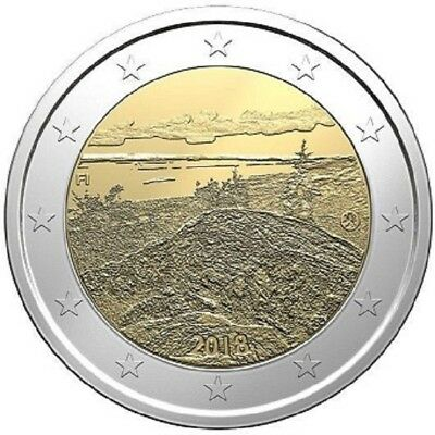 2 euros commémorative Finlande 2018 Parc national de Koli