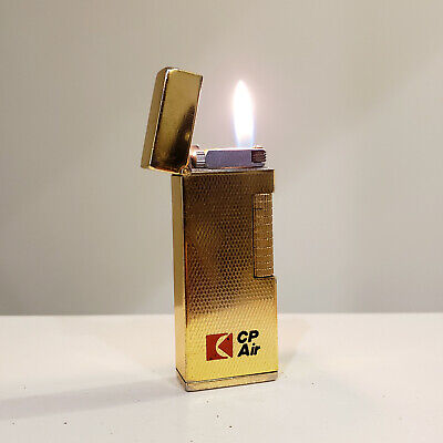 Vintage 'CP Air' Advertising Lighter, Made in Japan, Rare Collectors Lighter